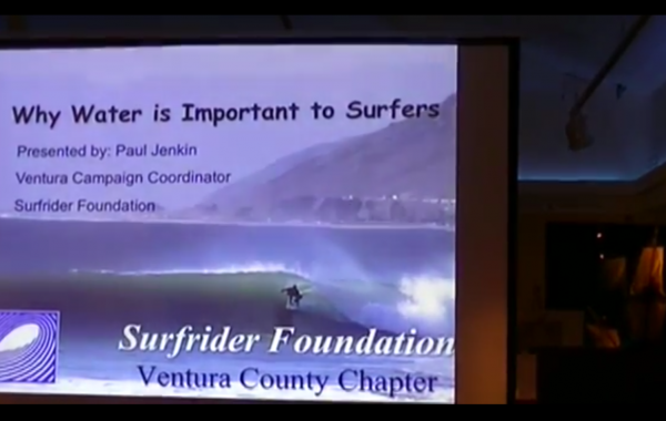 Why (Fresh) Water is Important to Surfers